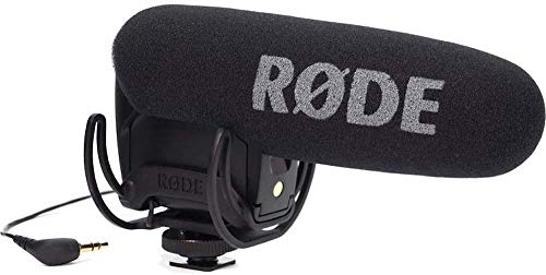 Rode VMPRY VideoMic Pro Rycote, Kamera-Richtmikrofon mit Lyre, Batteriespeisung