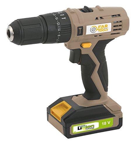 LI 180P Taladro sin cable percusión tensión 18 V, Tipo de batería Li-ion, Batería amperios 1,3 AH, máx. 18 N/M,