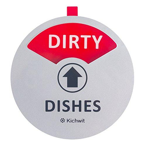 kichwit Reinigung Dirty Spülmaschine Magnet mit der 3. Option