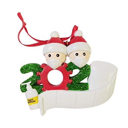 poedkl 2020 Quarantine Christmas Party Decoration Gift Product Personalized Family
