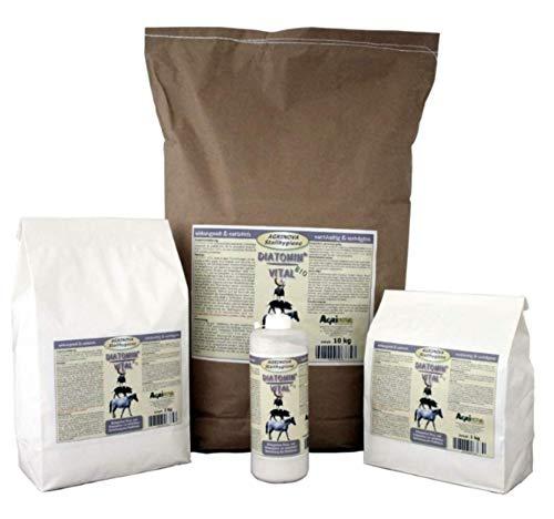 Agrinova DIATOMIN® Vital - Inhalt: 2 kg Natürliche amorphe Kieselgur (Siliziumdioxid) in Pulverform als Trocknungsmittel zur Verbesserung des Stallklimas.