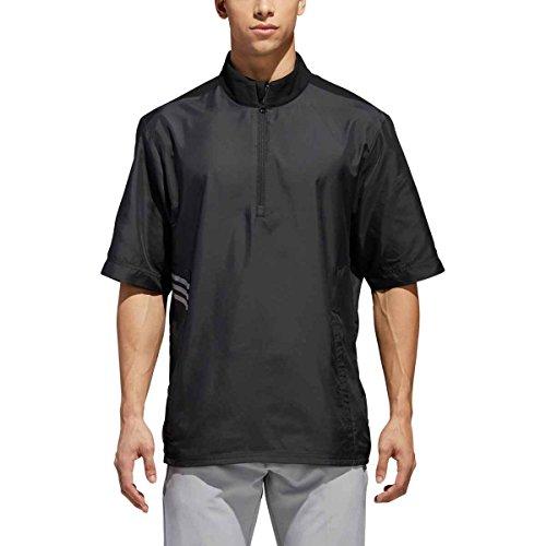 adidas Golf Club Veste coupe-vent à manches courtes pour homme petit Noir