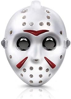 GNOCE Killer Jason Voorhees Mask Bracelet Charms Sterling Silver
