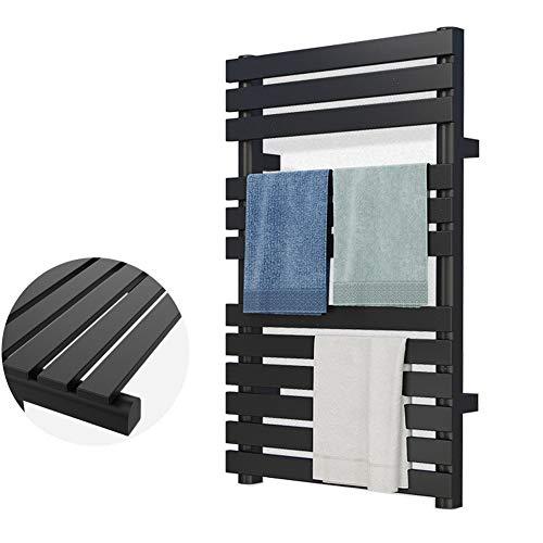MTX-Racks handdoekwarmer platpaneel elektrische badkamerradiator, badkamerradiator radiator muur bevestigde ladder voor stijlvolle badkamer 800 x 500 mm modern design