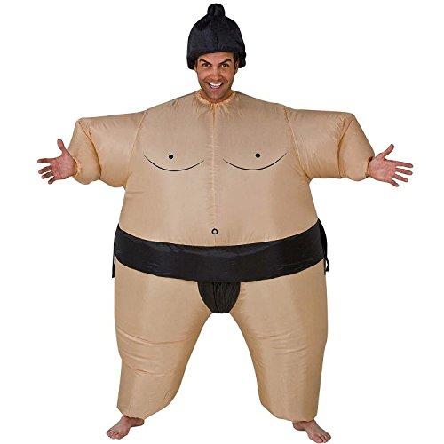 AirSuits Aufblasbares Kostum Fatsuit Sumo Ringer Fasching Karneval