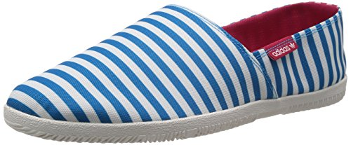 adidas Originals adiDrill - Herren Espadrilles - aus Canvas-Stoff, Solblu/Whtvap/Redbea, 7