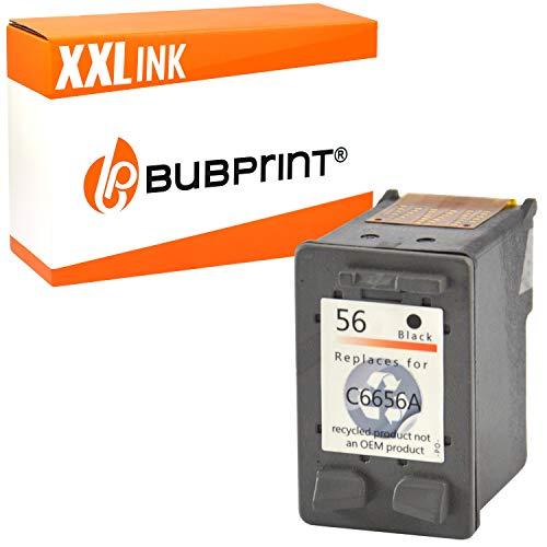 Bubprint Druckerpatrone kompatibel für HP 56 für DeskJet 5150 5550 5600 5650 5652 OfficeJet 5510 5605Z 5610 5615 PhotoSmart 7760 PSC 1110 1210 1215 1315 1315S 1350 Schwarz