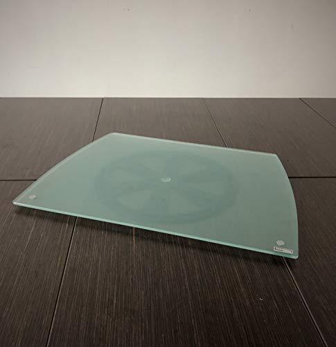 Tecnidea - Base de TV giratoria, también para PC, de cristal templado satinado. Dimensiones de la parte delantera: 54 cm. Parte trasera: 44 cm. Profundidad: 39 cm. Art. GK56.