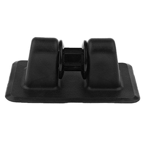 Schlauchboote Festmacher Zubehör - Ankerhalter Seilrolle zum kleben auf Schlauchboot - Schwarz