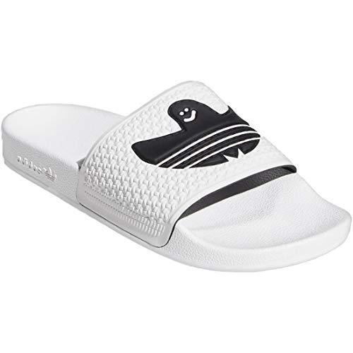 [アディダス] adidas シュムーフォイル サンダル SHMOOFOIL Sandal フットウェアホワイト/コアブラック/フ...