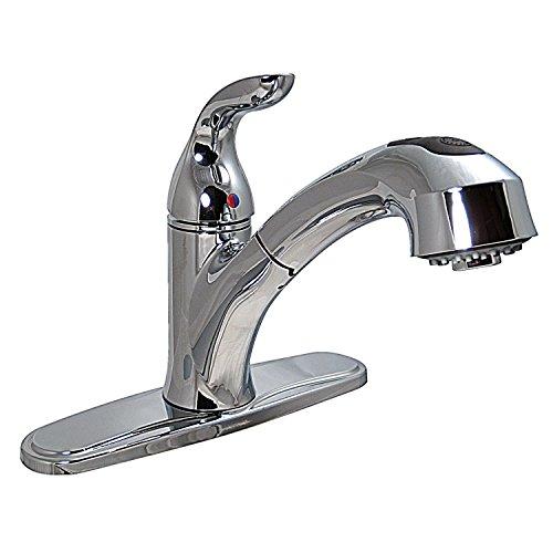 Phoenix Faucets PF231341 Single-Handle Pull Out Hybrid Kitchen Faucet - Chrome
