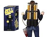 Original Cup - Bierspender Rucksack, 2 x 3L Behälter, Getränkerucksack für Erfrischungsgetränke,...