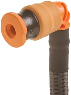 Source Outdoor Storm Hydration Push-Pull Drinking Valve Kit (Orange/Black)