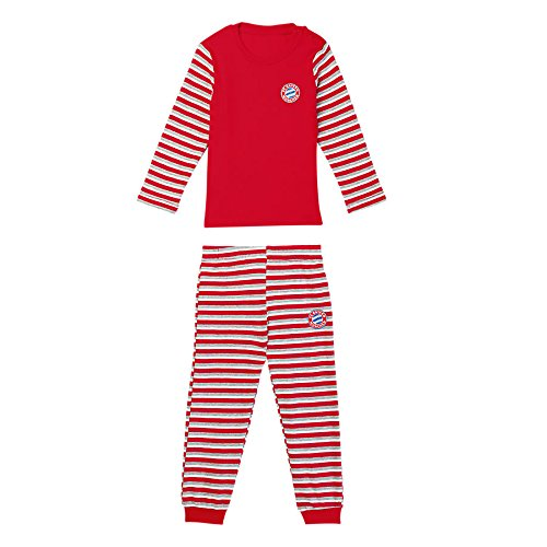 FC Bayern München Baby Schlafanzug Stripes 62/68