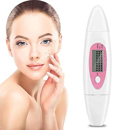 Digital Analyzer For Skin Moisture,Digital Skin Detector With Water Front Moisture Sensor 3 In 1 Skin For Scanner & Tester Accessories Care For Traveling,Home,Beauty Salon