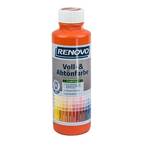 Voll- und Abtoenfarbe Farbe 500 ml Rotorange 2001 Renovo