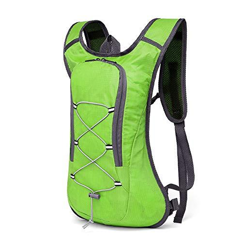 Sac à Dos l'eau Sac à Dos léger épaule Hydratation Sac à Dos for Outdoor Gear Ski Course à Pied Randonnée à vélo Sac à Dos l'eau Réserve d'eau (Color : Green)