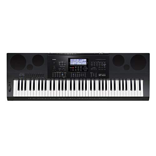 Casio WK-7600 76-Key Workstation Keyboard with Power Supply
