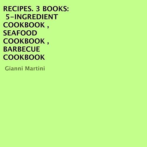 Recipes. 3 Books cover art