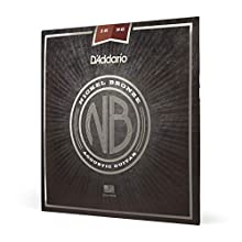 D 'Addario nb165616–56Resophonic níquel cuerdas para guitarra acústica, color Bronce Mayor resistencia a la corrosión para una mayor duración Uncoated String Característica de D 'Addario exclusiva de acero al carbono NY para fuerza y estabilidad ...