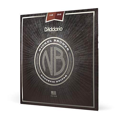 D 'Addario nb165616–56Resophonic Nickel Bronze Acoustic Gitarre Saiten