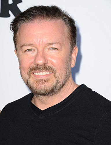 Posterazzi Poster Print Ricky Gervais at Arrivals for Derek Season 2 Premiere Leonard H. Goldenson Theatre Los Angeles Ca May 27 2014. Photo by Dee CerconeEverett Collection Celebrity (8 x 10)