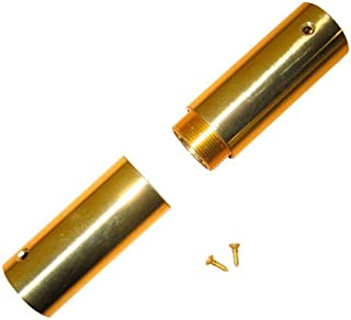 brass flag pole screw joint