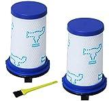 Poweka - Filtros de espuma para aspiradoras Rowenta y Tefal Air Force 360, ZR009001 (2 unidades)