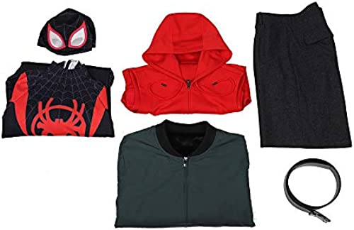 Glam Cos Spider Into The Verse - Miles Morales (Jacken-Version) M liches Cosplay-Kostüm - Shameik Moore