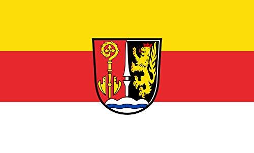 Unbekannt magFlags Tisch-Fahne/Tisch-Flagge: Bergheim 15x25cm inkl. Tisch-Ständer