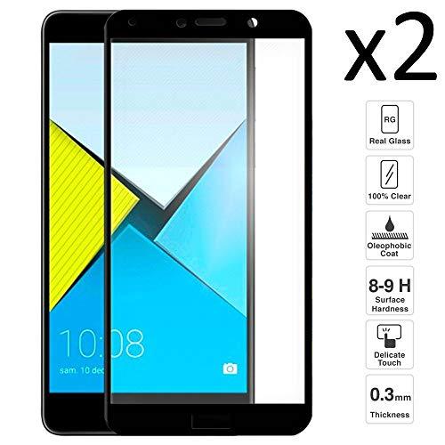 iGlobalmarket Set 2 unids. Protector Pantalla Huawei Honor 6X, Cristal Templado, sin Burbujas, Alta Definicion, 9H Dureza, Resistente a Arañazos