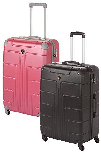 Hartschale Kofferset Pärchen-Set 2-teilig 2x Gr. L, je 65cm, je 68 Liter viele verschiedene Farbkombinationen