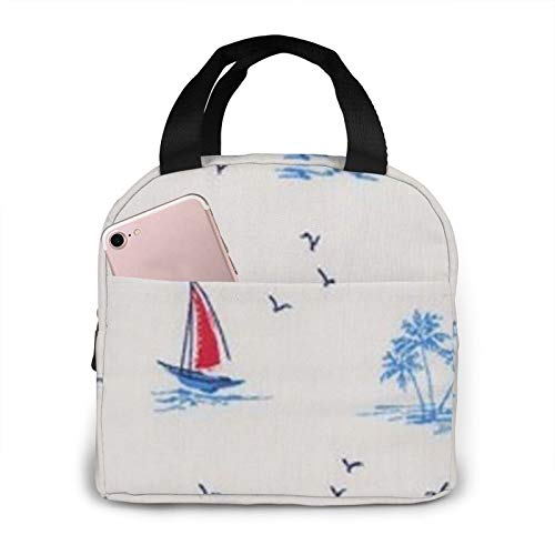Bolsa de almuerzo portátil con aislamiento impermeable de gran capacidad para viajes, para oficina, escuela, picnic