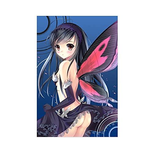 Anime Accel World 25 - Póster de lienzo para pared (30 x 45 cm)