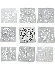 9 unids acolcha reglas y plantillas patchwork herramientas engarzadora espina sub bordado plantilla hecha a mano DIY costura conjunto