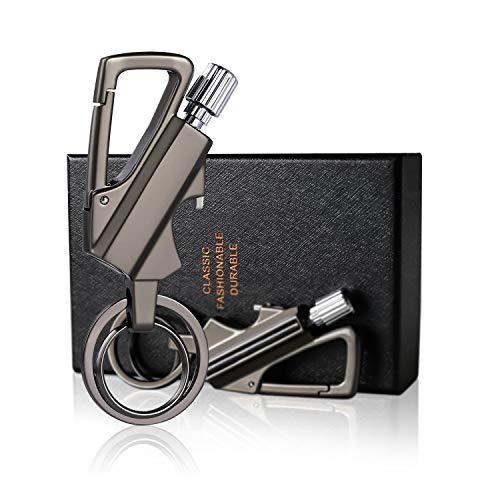 Keychain Bottle Opener Flint Fire Starter Permanent Match Multi-tool Keychain