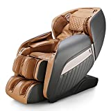 mustbuy Massagesessel Zero-Gravity Liegesessel für Ganzkörpermassage, elektrischer Massagestuhl mit Wärmefunktion, bionischen Massagetechniken, USB, Bluetooth, Relaxsessel Für Zuhause und Büro