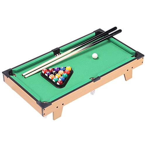 TY-Pool Table MMM@ Kinder-Billardtisch Home Mini Small Billard Toy Velvet Tischplatte Große Kapazität Solid Ball Net Hochwertige Billard Queue Geeignet für Menschen über 3 Jahre alt