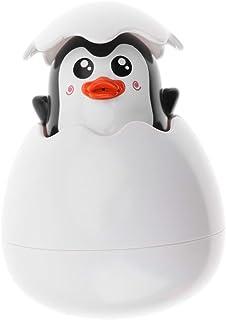 HOMYL Infant Bath Spray Duck Toys for Kids Bathing Playing Water Swimming Shower Gift Penguin Egg