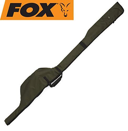 Fox R-Series 12ft Sleeve Single Rod 192x24cm - Rutentasche für Karpfenrute, Angeltasche für Angelrute, Rutenfutteral, Tackletasche
