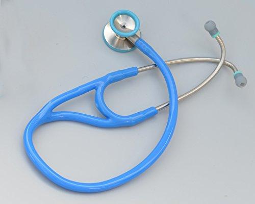 Kila Scopes KL770 Cardiac Dual Head Steel Stethoscope with Bell - SkyBlue