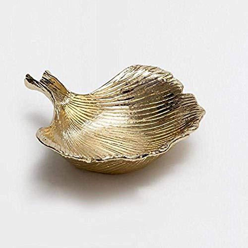 LILICEN Cenicero, Decoraciones del Arte Craft Cenicero de Metal de cáscara de Bronce
