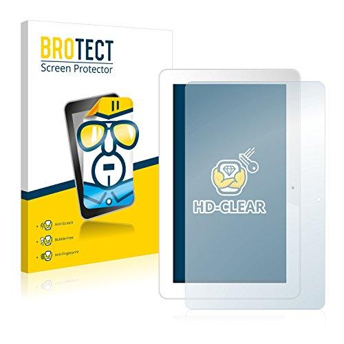 BROTECT Schutzfolie kompatibel mit Odys Space 10 Plus (2 Stück) klare Bildschirmschutz-Folie