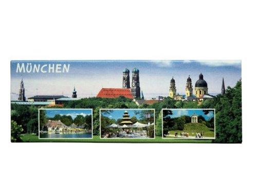 City Souvenir Shop Panorama-Magnet München