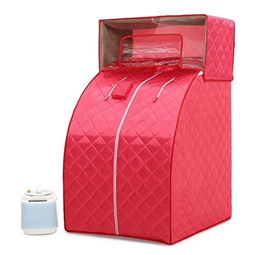 XXYYA Box Vapore Singolo, Box Bagno Detox per Sauna Domestica, Bagno Turco per Tutto Il Corpo, Box Sudore per Famiglie, Utilizzato per Alleviare La Fa