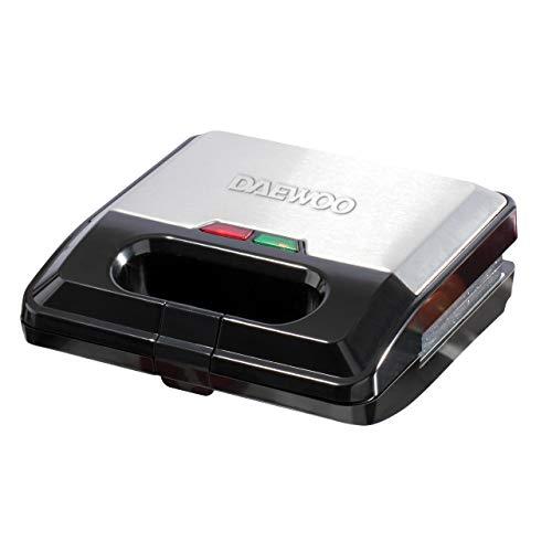 Daewoo SDA1562 3-in-1 Snack Maker, Sandwich, Waffle & Panini Press with...