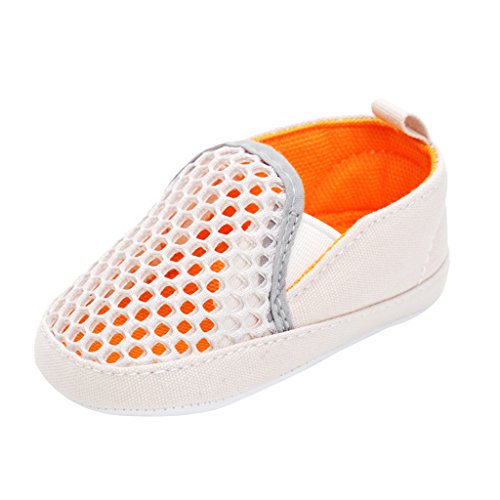 SM SunniMix Zapatillas Antideslizantes Transpirables Ligeramente Cerradas Beach Zapatos para El Agua Sandalias Niñas Niños - 1, 0-6 M