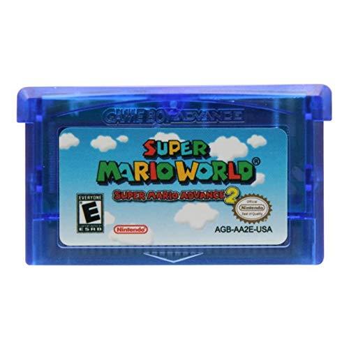 Jhana Super Mario World Super Mario Advance 2 32 Bit Game For Nintendo GBA US Version (Reproduction)