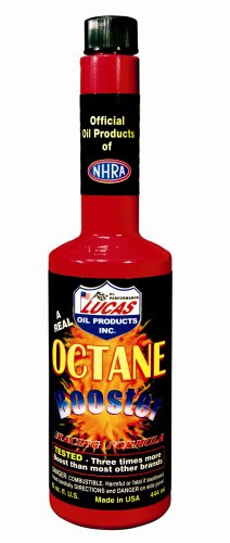 Lucas Oil 10026-PK12 Octane Booster - 15 oz (Pack of 12)