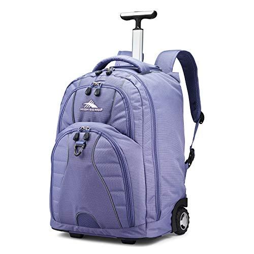 High Sierra Freewheel Wheeled Laptop Backpack, 15-inch Student Laptop Backpack